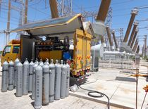 SF6 abb power grids leakage test