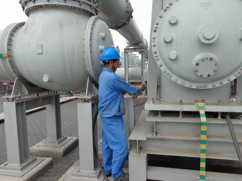 SF6 Gas-Insulated-Substations Handling System