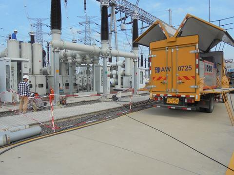 SF6 66 kv gis switchgear servicing machinery manufacturer