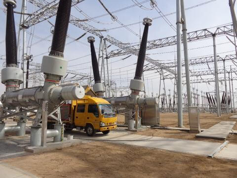 SF6 Gas-Insulated-Substations Maintenance Unit factorys
