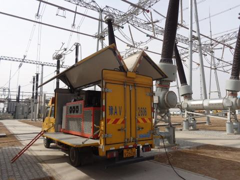 SF6 abb power grids Reclaim rental