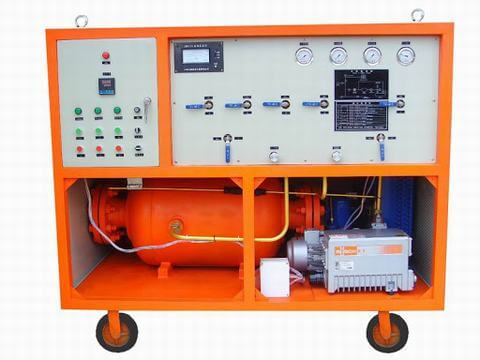 Sulfur Hexafluoride hv switchgear gas Vacuum Charging Manufacturers