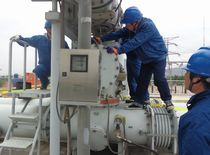 Sulfur Hexafluoride high-voltage switchgears re-use electronic weighing device